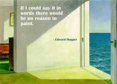 Edward Hopper (Two Rooms by the Sea, 1951)