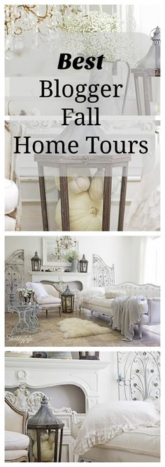 The best fall blogger home tours for autumn with shabbyfufu fall home tour 2015