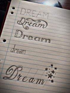 #dream #art #handlettering #design #illustration #fonts #pencil #practicemakesperfect #dreamsarefree #dreamoutloud #fonts #typography #leadpencil #drawing