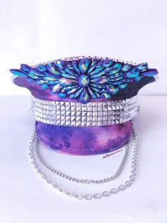 Purple Daze Hat, Burning Man Hat, Burner Fashion, Burning Man Style, Burner, EDC, EDCLV, Ultra Music Festival, Hat