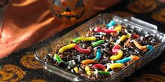 Earth Worm Delights Recipe | Kellogg's® Rice Krispies®