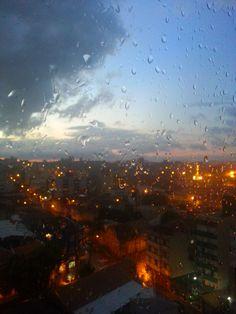 Linda mesmo na chuva...