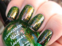 KLEANCOLOR CHUNKY HOLO CLOVER FREE SHIPPING $5.99