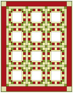 What a neat setting for any BOM!  Apple Avenue Quilts: 2013 Free Block of the Month