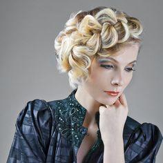 Collezione: Moda Autunno-Inverno 2014 Hairstylist: Unali  #moda #modacapelli