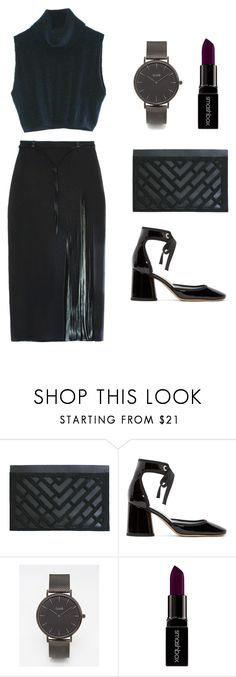 """AN EVENING IN REIN"" by reinlondon ❤ liked on Polyvore featuring Marc Jacobs, CLUSE and Smashbox"