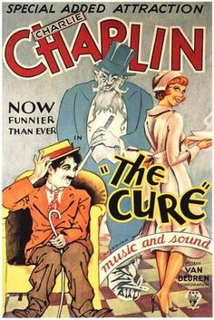 The Cure Movie Charlie Chaplin Poster Print Movies Poster - 30 x 46 cm Old Movie Posters, Classic Movie Posters, Cinema Posters, Classic Films, Charlie Chaplin, Old Movies, Vintage Movies, The Cure Movie, Man Ray