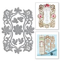 Shapeabilities Stacey Caron Holiday Christmas Dove Frame Etched Dies