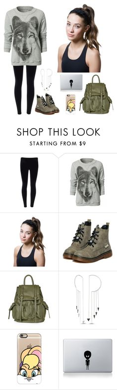"""Wolf"" by natalianunez-1 ❤ liked on Polyvore featuring Titika, Topshop, Amorium and Casetify"