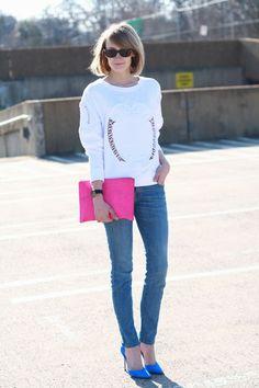 Jeitos mais descolados de usar peças pink: Acessórios cor-de-rosa