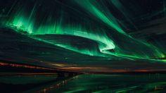 Northern Lights, Alena Aenami on ArtStation at https://www.artstation.com/artwork/aZ8AX
