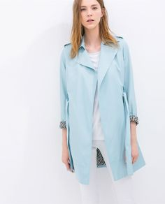Image 3 of SOFT TRENCH COAT from Zara
