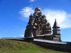 Russian church built entirely without nails.