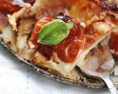 Tatin de tomates aux aubergines minceur : http://www.fourchette-et-bikini.fr/recettes/recettes-minceur/tatin-de-tomates-aux-aubergines-minceur.html