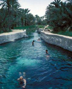 Ein Athari عين عذاري Bahrain, a sweet water spring