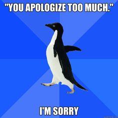 #Socially Awkward Penguin