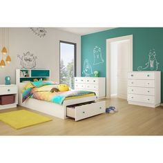 You'll love the Little Monsters Twin Mate's Bed with Storage at Wayfair - Great Deals on all Baby & Kids  products with Free Shipping on most stuff, even the big stuff.