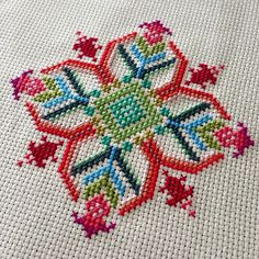 Finished! Pattern from @annamariahorner's new needleworks book :) | Flickr - Photo Sharing!