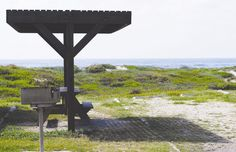 Tucked in the dunes with a view of the Gulf of Mexico and just half of a mile north of the visitor center, Malaquite Campground features 50 semi-primitive designated sites. Tent campers are welcome to set up camp on the beach or at the campsite.
