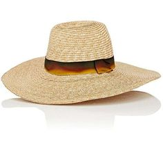 Littledoe Women's Panama Hat ($129) ❤ liked on Polyvore featuring accessories, hats, no color, crown hat, braid crown, panama hat, straw hat and band hats