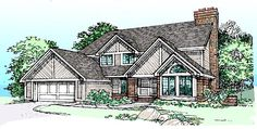 Traditional House Plan 99332