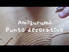 Amigurumi : Punto decorativo
