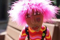 I made this doll as part of an online Cindee Moyer class!