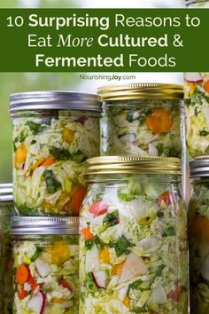 Fermented and cultured foods heal our bodies and provide needed enzymes and vitamins. From sourdough and cheese to sauerkraut and yogurt, read more to find out why you should be eating more fermented foods.