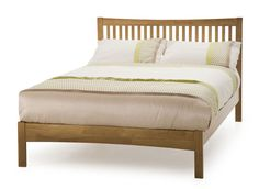 Cheapest Price On Serene Mya Kingsize Wooden Bedstead - Oak. Have Your Serene Mya Kingsize Wooden Bedstead - Oak delivered by bedstardirects experienced delivery team. Low Bed Frame, Malm Bed Frame, Bed Frame Sizes, Bed Sizes, Bed Frames, Super King Bed Frame, Super King Size Bed, King Size Bed Frame, Wooden King Size Bed
