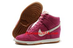 Womens Nike Dunk Sky High Rose Pink Sail Shoes   #Pink #Womens #Sneakers