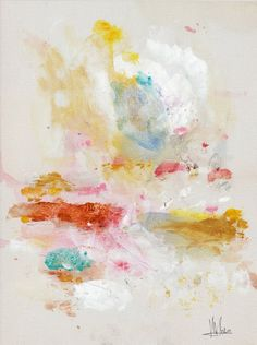 Can one be in love with splatters and splashes? I say yes. By Michael Cina.