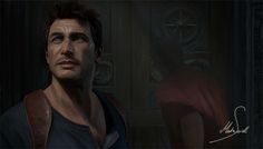 Uncharted painting study  This is my 2nd piece of 5 paintings I will do of cinematic scenes in the Uncharted franchise. This study was made to study color, lighting, composition and photorealism. This painting was great fun to do and more uncharted paintings are coming soon.   Martin Seidl on ArtStation at https://www.artstation.com/artwork/925QL