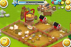 Hay Day  This is a very popular app, check out the review by clicking on the pin! :)