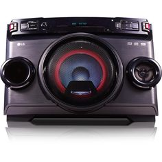 LG OM4560 Mini Hi-Fi System - 220 W RMS - Black - CD Player - 1 Disc(s) - FM - 2500 W PMPO - 1 Speaker(s) - CD-DA, MP3, WMA - USB - Remote Control