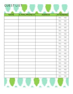 1000 images about plan b graduation party on pinterest for Graduation party checklist template