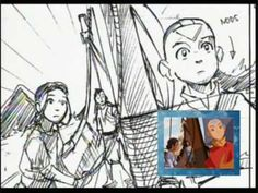 Avatar's Original Animatic Storyboard - Bato Of The Water Tribe part 2