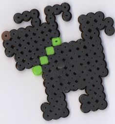 Doggie perler beads by pokeman112 on deviantart