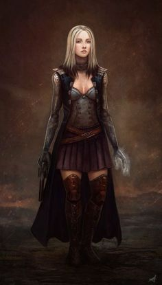 Image result for urban fantasy character art