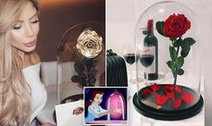 Florist creates a Beauty and the Beast inspired rose that lasts a year
