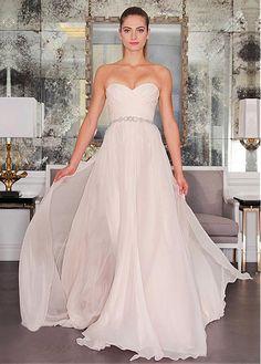 3d1c2a07436a Magbridal Attractive Chiffon Sweetheart Neckline A-line Wedding Dresses  With Beadings. Matrimoni Rosa FardVestiti Da Cerimonia NuzialeStile SposaMatrimoni  ...