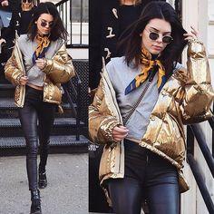 @kendalljenner today in NYC #STYLEDbyMonicaRose #kendalljenner casual street style
