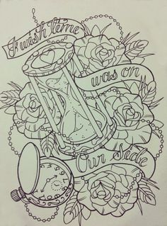 tattoo sketch - could be used as images for New Year's Eve - possible for design for tattoo inspired Baltimore album quilt http://tattoo-ideas.us