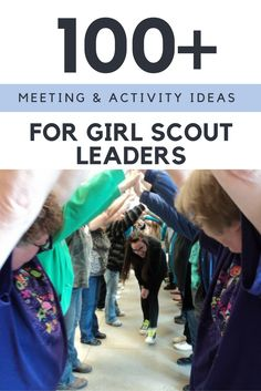 """""""Resources for Girl ScoutIdeas  Girl Scout Leader Connect is aplace for Girl Scout leaders to get Girl Scout ideas with step by step activities for badges, ceremonies, World Thinking Day, Girl Scout Bronze, Silver and Gold awards, parties, service project and more. Along with blog post with ideas, you will also find easy to use booklets and printable in the GS Leader Connect shop.""""…"""