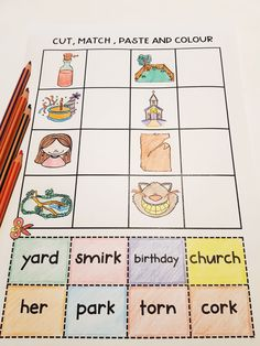 Mixed R Controlled Vowel Worksheets - practise all the r controlled vowel sounds in one worksheet. Perfect for individual support and literacy centers. Ready for you to just print and go! Phonics Sounds, Vowel Sounds, Teacher Hacks, Teacher Pay Teachers, Vowel Worksheets, Early Finishers, Literacy Centers, Teacher Newsletter, Teaching
