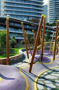 parkour for kids: carve landscape architecture