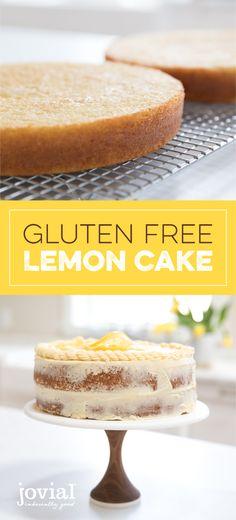 Gluten Free Lemon Cake | jovial foods Inc.