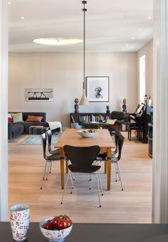 """Und nochmal eine andere Perspektive auf das Wohnzimmer in """"Lascaux""""."""