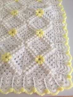 Baby Afghan Patterns, Kids Knitting Patterns, Crochet Square Patterns, Crochet Animal Patterns, Crochet Blanket Patterns, Crochet Stitches, Crochet Baby Blanket Tutorial, Baby Afghan Crochet, Crochet Projects