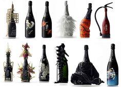 champagne bottle design when. Food Packaging Design, Coffee Packaging, Bottle Packaging, Packaging Design Inspiration, Chocolate Packaging, Packaging Ideas, Champagne Brands, Champagne Bottles, Alcohol Bottles