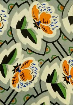 The Textile Blog - Surface pattern design Germany in 1939